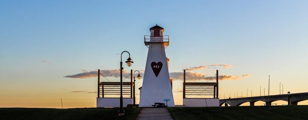 Prince Edward Island PNP - A lighthouse in Prince Edwards Island Canada.